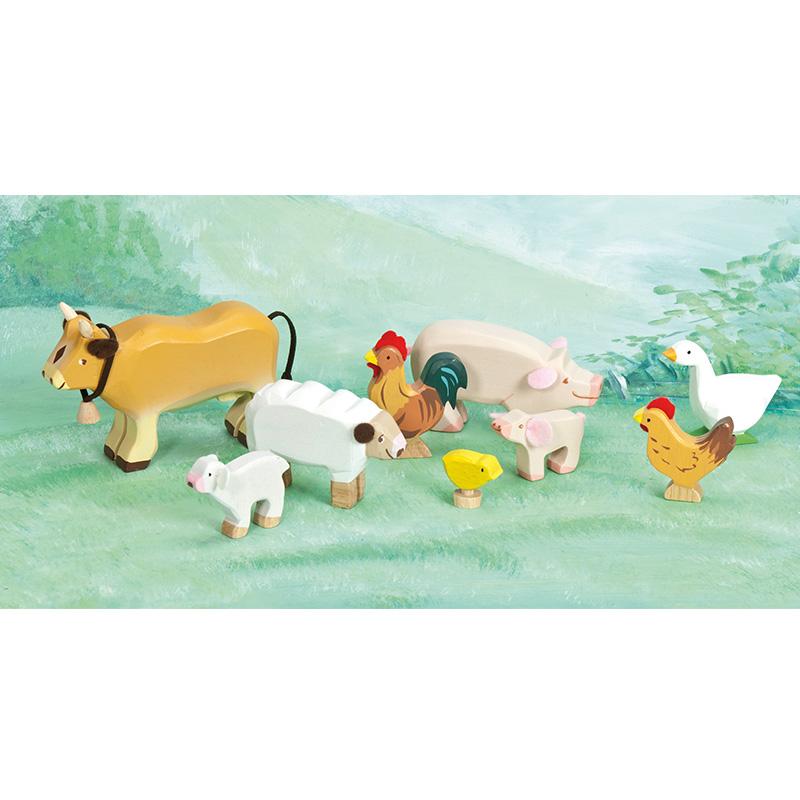 tv890-sunny-farm-animals