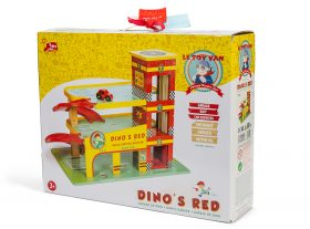 (1)TV450 Dino's Garage packaging