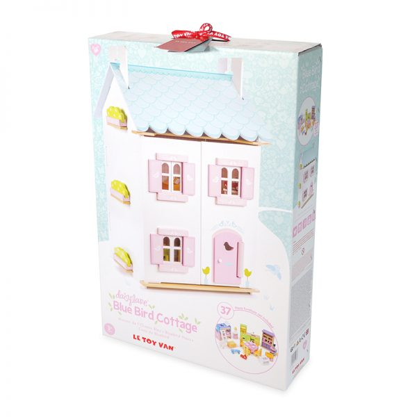 H138-Blue-Bird-Cottage-with-furniture-packaging
